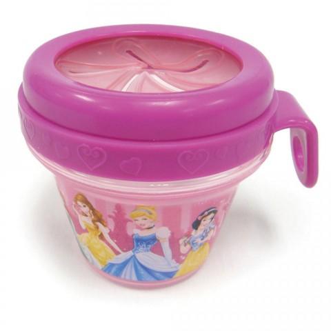 Pote para lanches Disney Princesas 240ml First Years