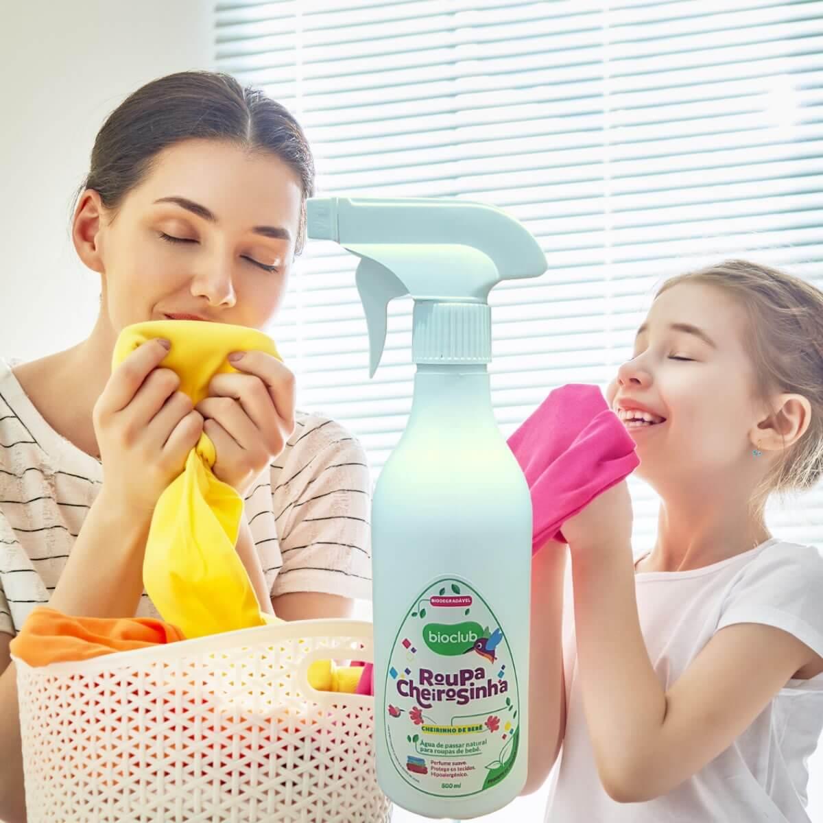 Roupa Cheirosinha Cheirinho de Bebê Bioclub® 500ml