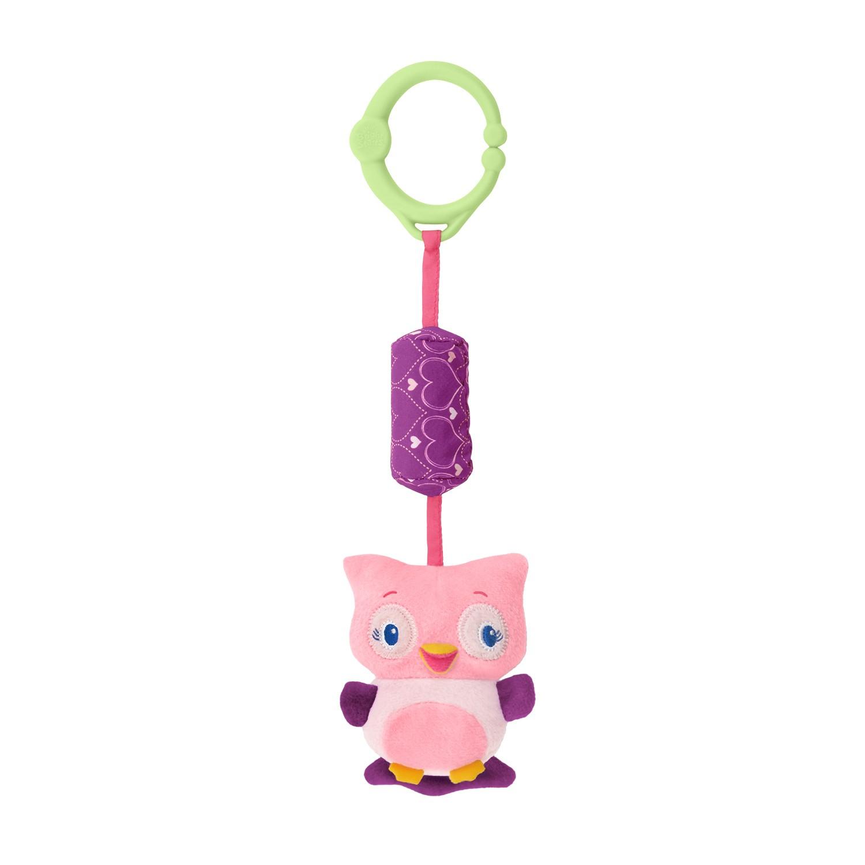 Brinquedos para Carrinho Bebe Sininhos da Floresta Corujinha Pretty in Pink Bright Starts
