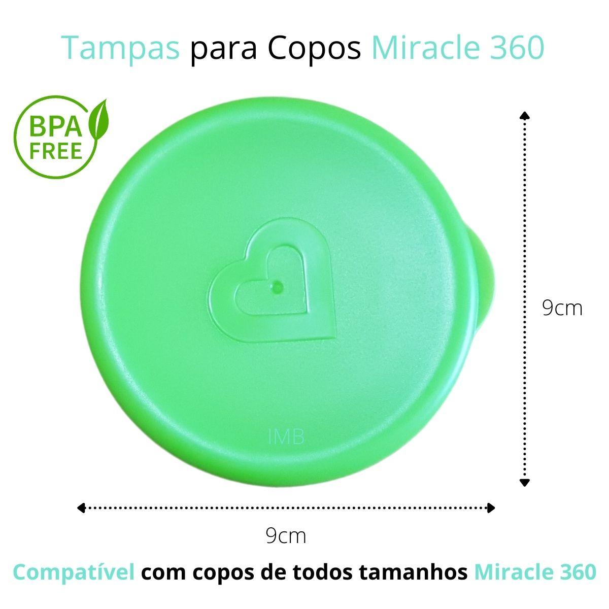 Tampas para Copos 360 (emb. c/ 4 unid.)