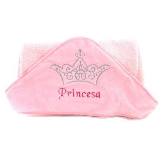 Toalha de Banho Princesa Zip Toys