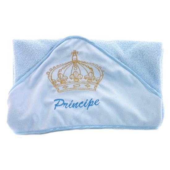 Toalha de Banho Príncipe Zip Toys