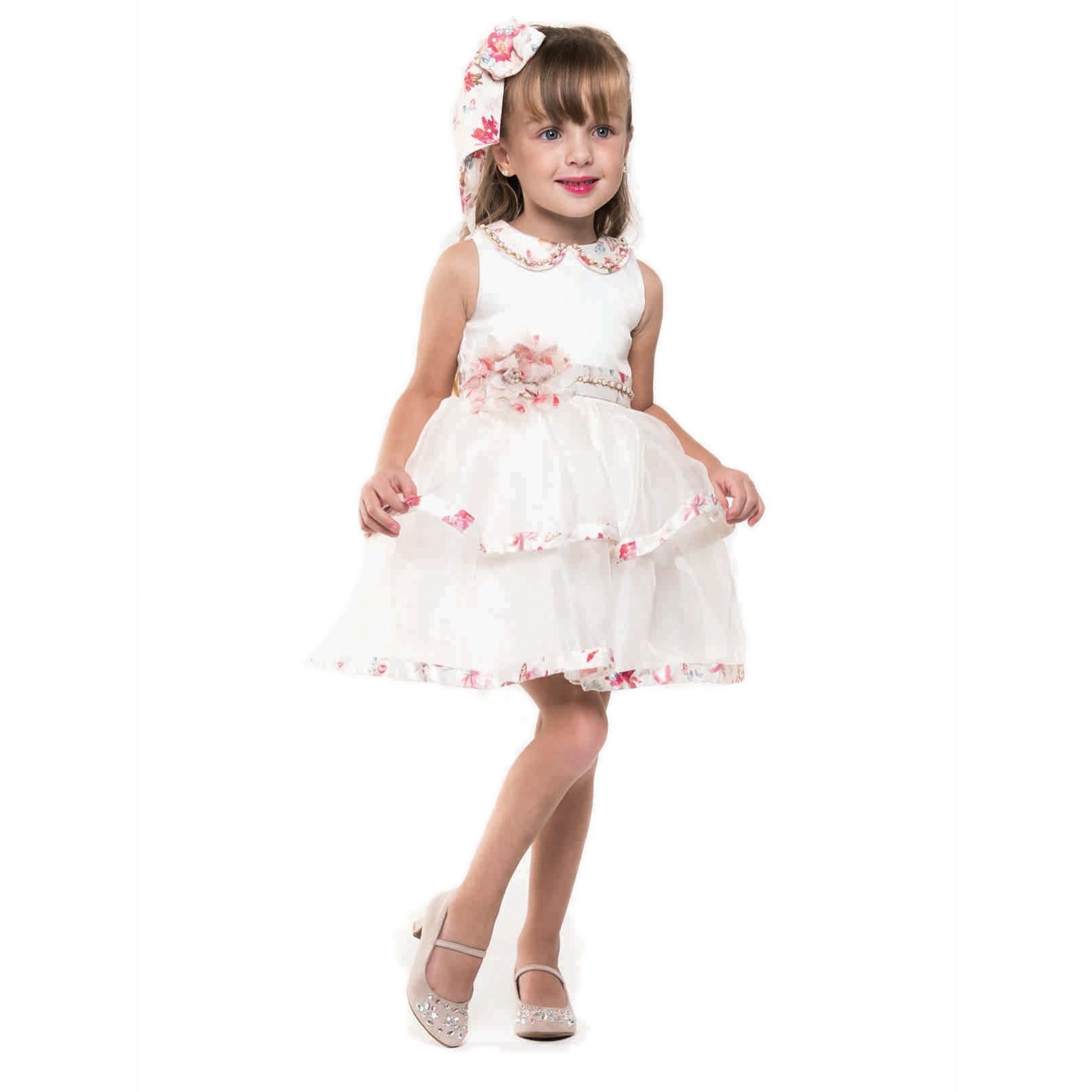 Vestido Festa Organza Petit Cherie