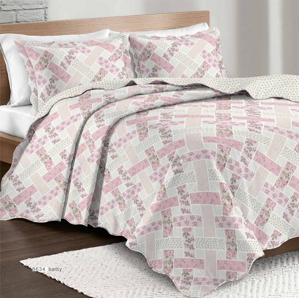 Colcha Patchwork King Betty
