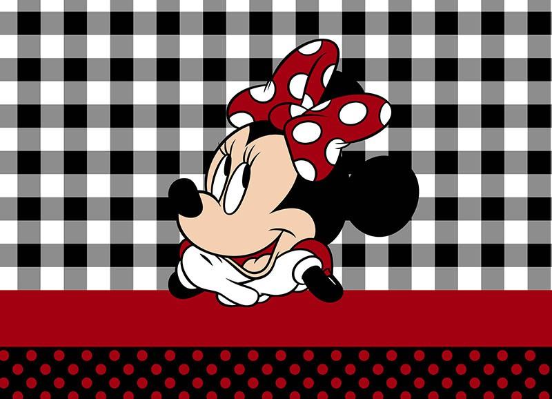 Jogo Solteiro Disney Minnie Lace Malha 100% Algodão