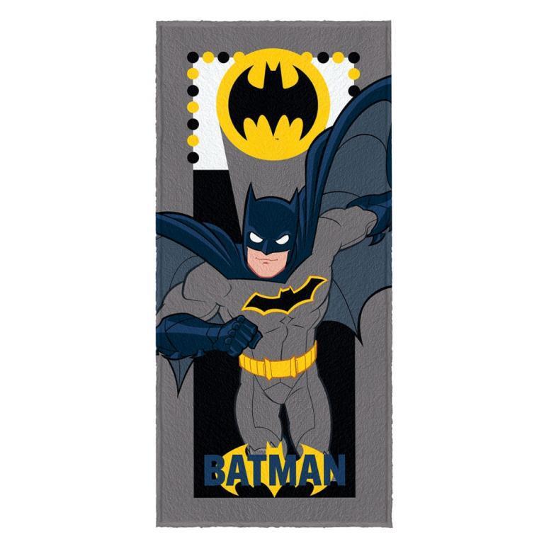 Toalha Felpuda de Banho Estampada Batman 5 - 60 cm x 1,20 m