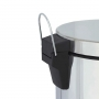 LIXEIRA TUB INOX C/ PEDAL E CESTO INTERNO - 20 LTS