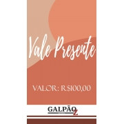 VALE PRESENTE - R$ 100,00