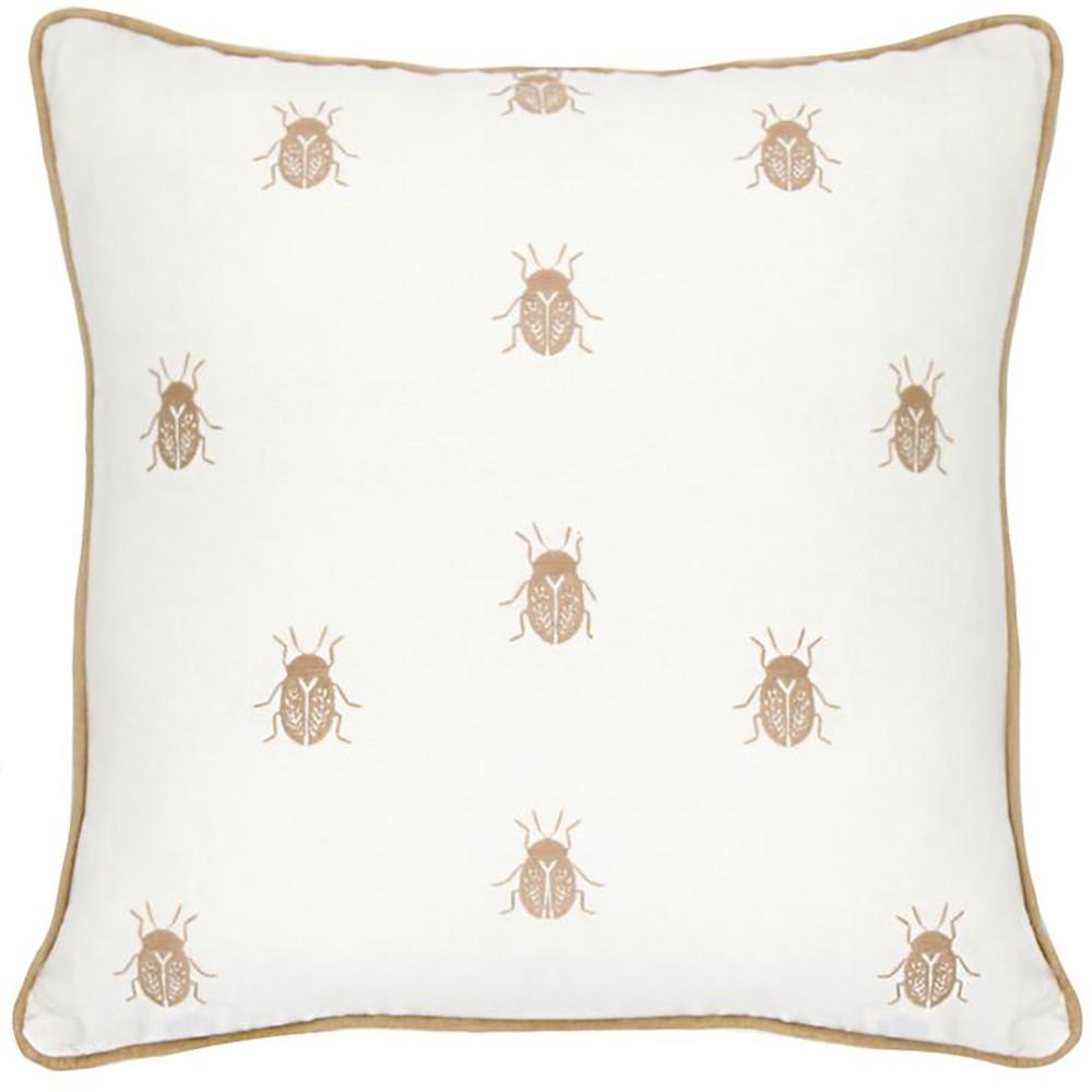 Almofada de Linho Beetles