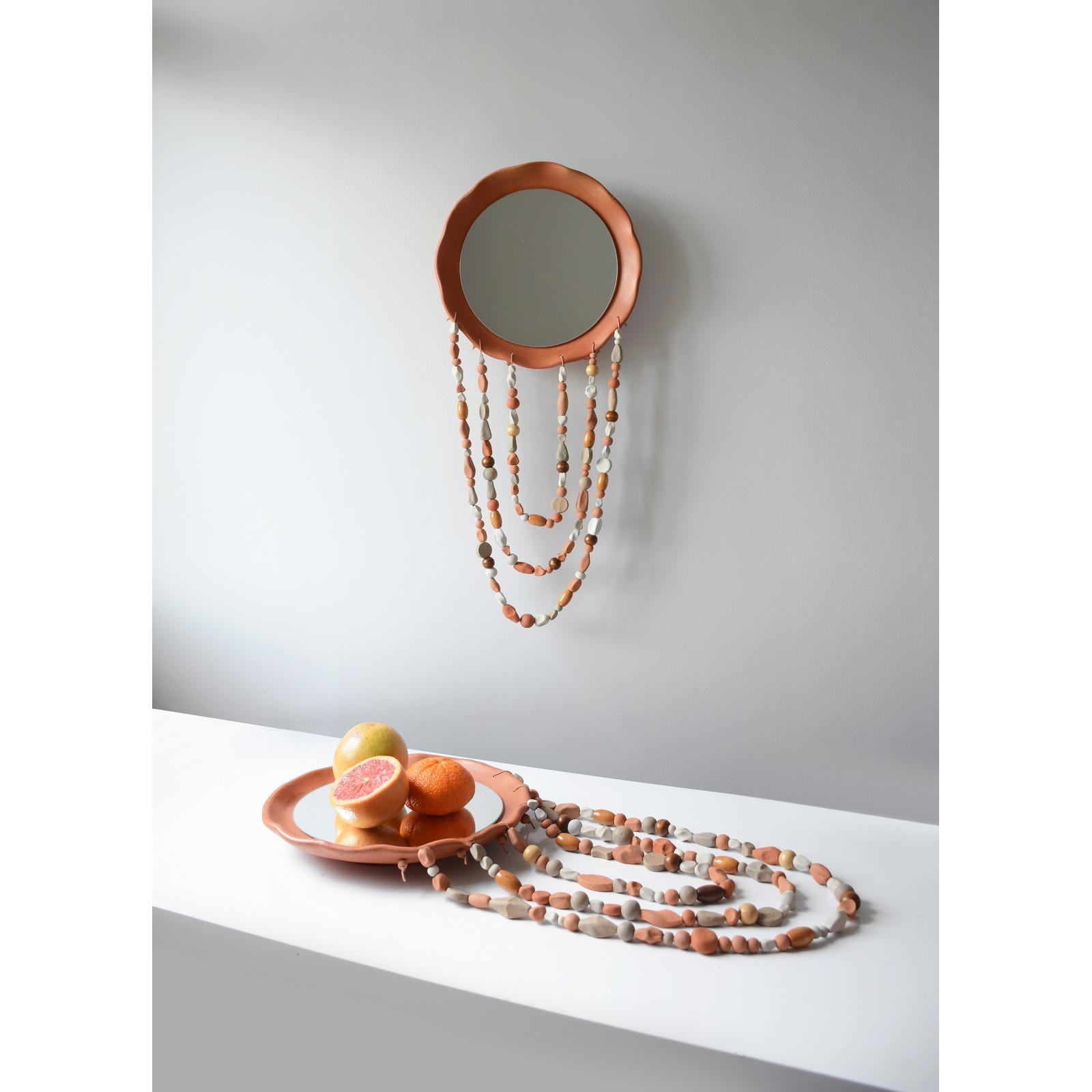 Espelho/Centro de Mesa Coralinas