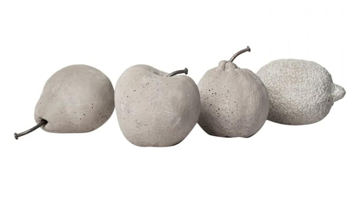 Frutas em Concreto