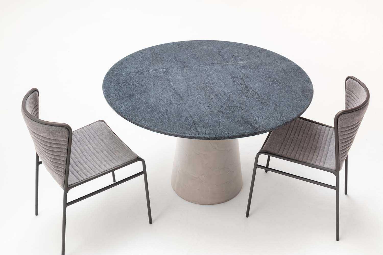 Mesa de Jantar Concrete Redonda · estudiobola
