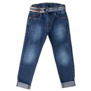 Calça Jeans Clube do Doce Cinto Dupla Face
