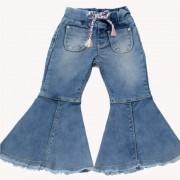 Calça Jeans Clube do Doce Flare Punho