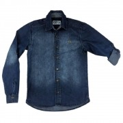 Camisa Jeans Clube do Doce CD Denim