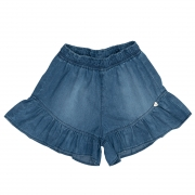 Short Jeans Clube do Doce Babados CD