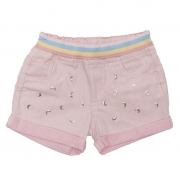 Shorts Sarja Clube do Doce Moon