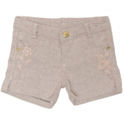 Shorts Sarja Clube do Doce Regular Butter