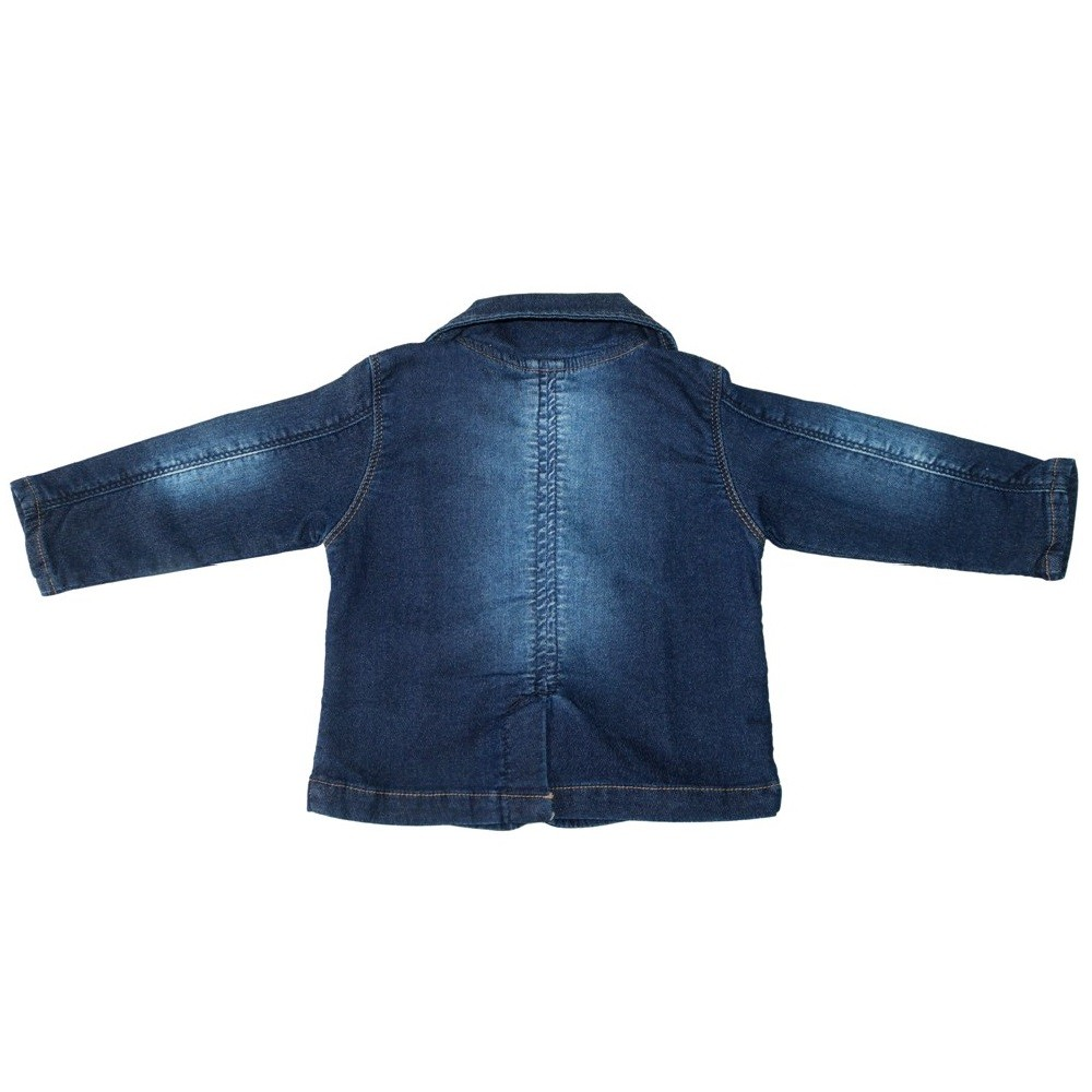 Blazer Jeans Clube do Doce Galão Interno