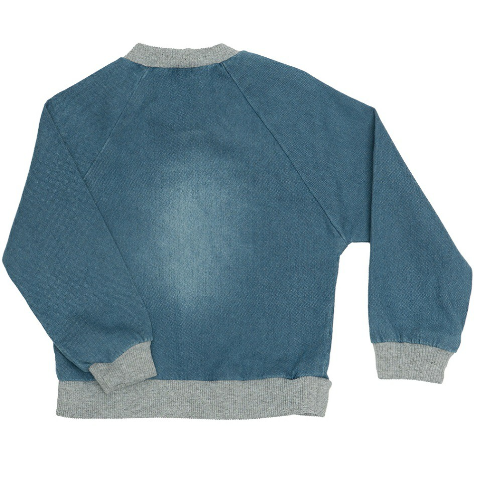Blusa Jeans Clube do Doce Laço
