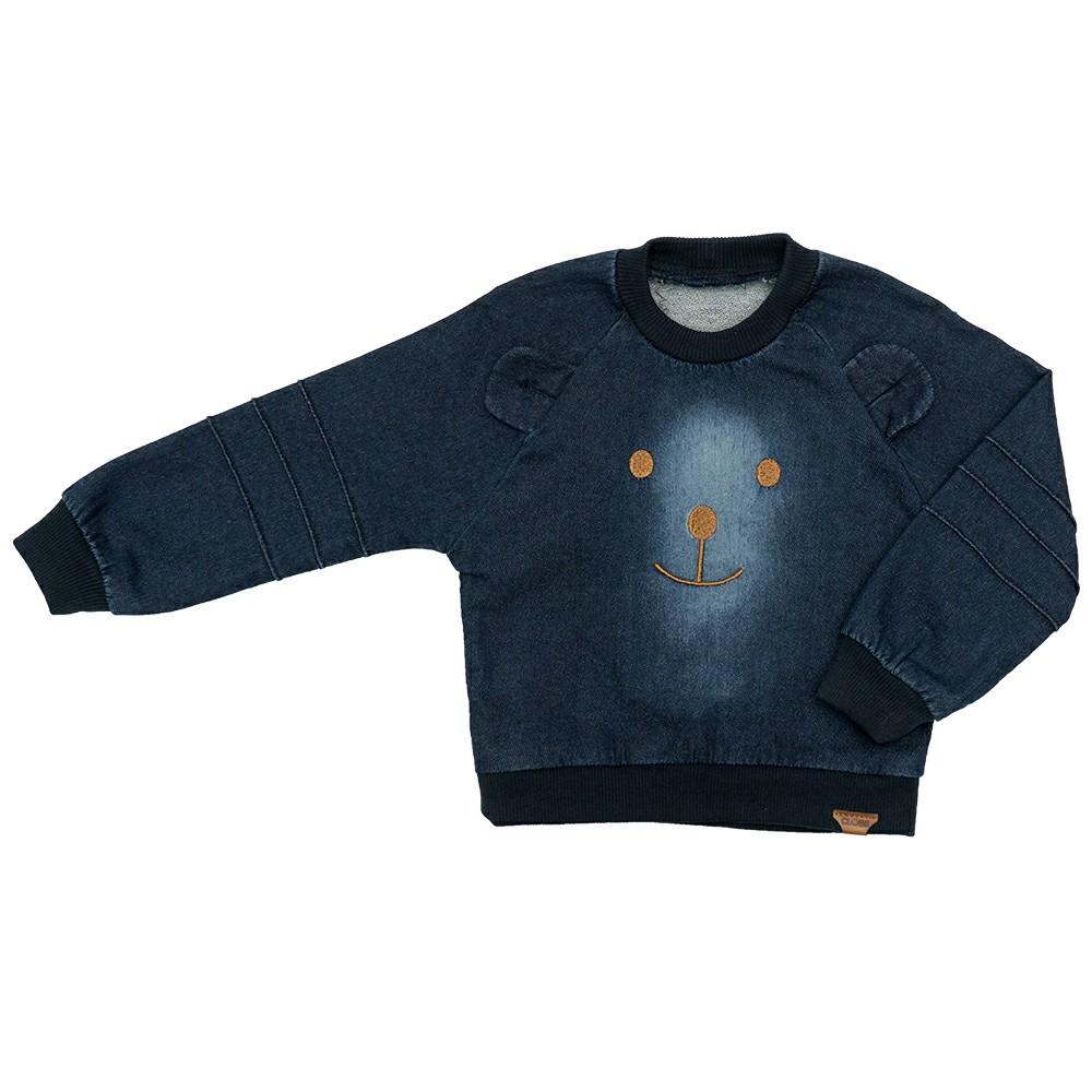 Blusa Jeans Clube do Doce Urso