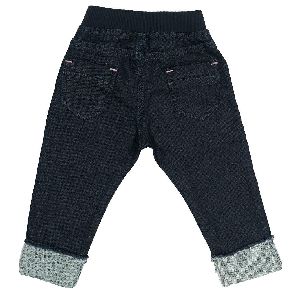 Calça Jeans Clube do Doce Aplicação Barra