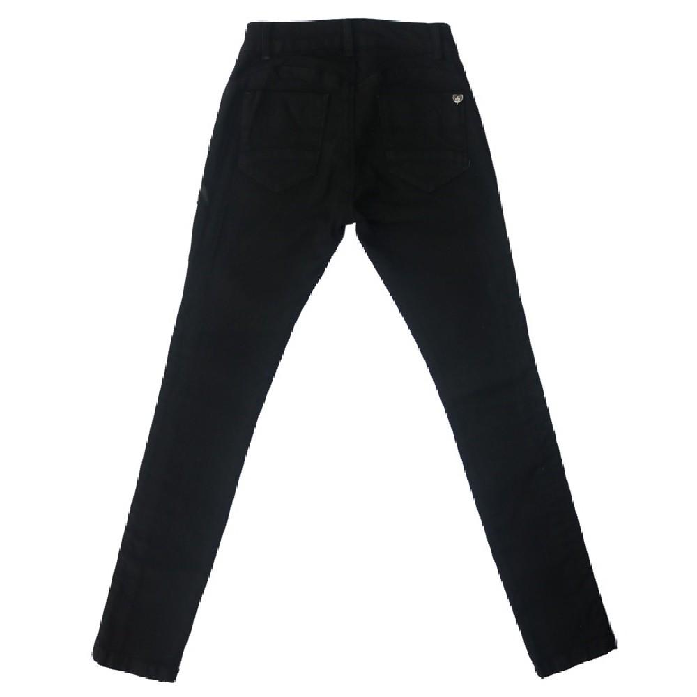 Calça Jeans Clube do Doce Black Pedraria