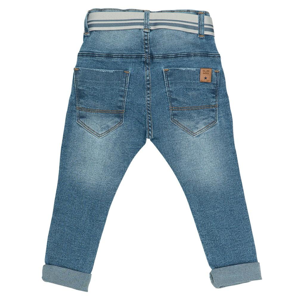 Calça Jeans Clube do Doce Etiq. Bolso