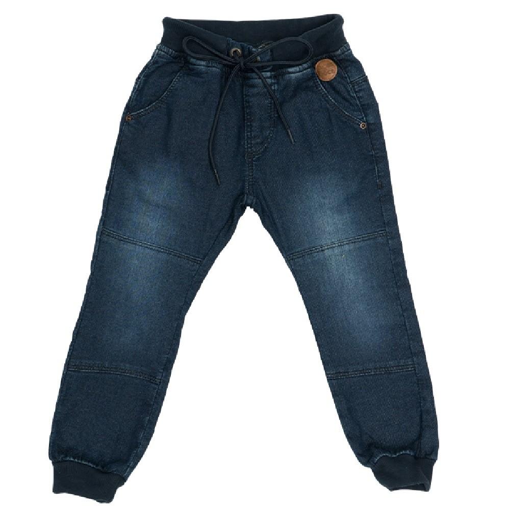 Calça Jeans Clube do Doce Jogger Ilhós