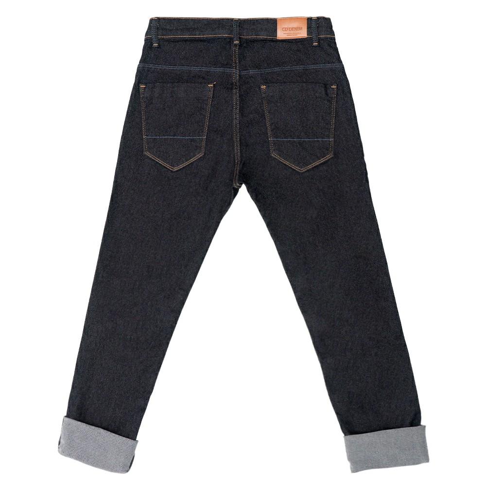 Calça Jeans Clube do Doce Skinny Bandeira