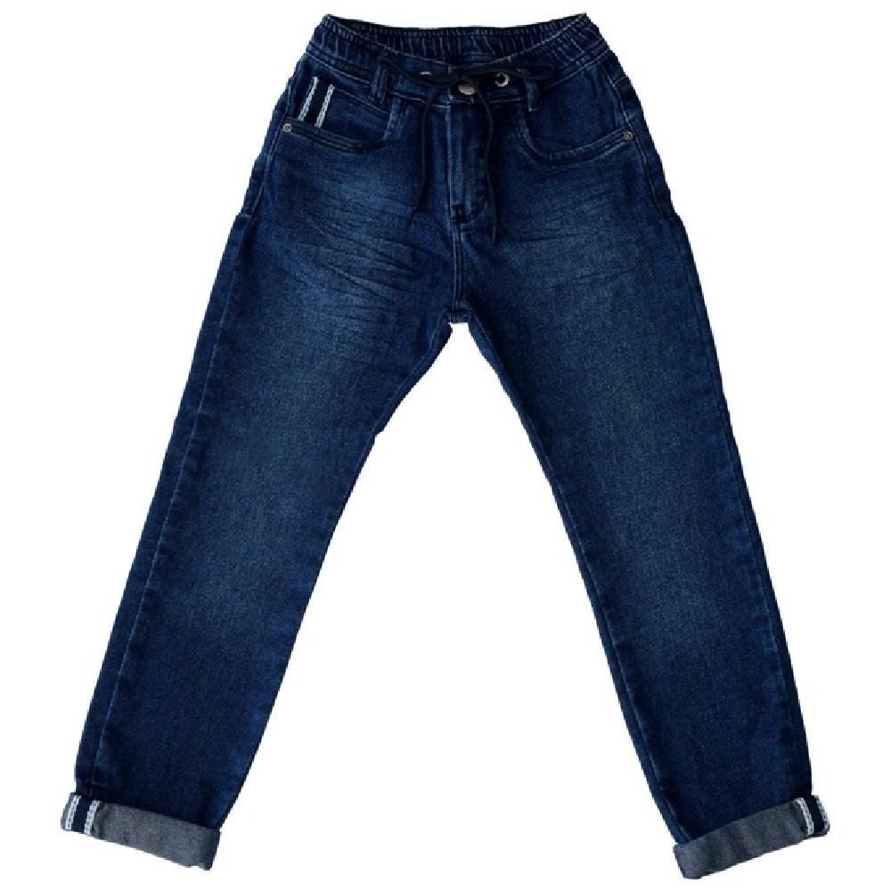 Calça Jeans Clube do Doce Slim com Galão
