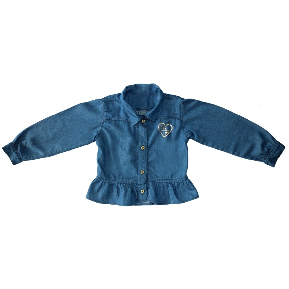 Camisa Jeans Clube do Doce Babadinho