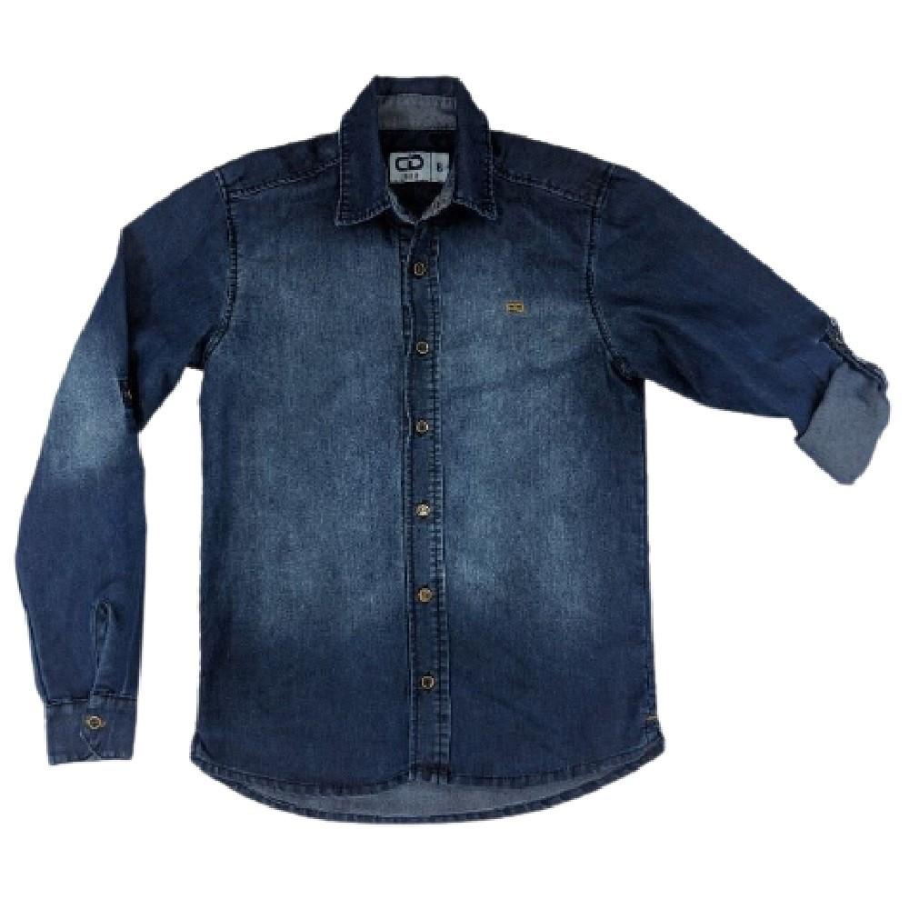 Camisa Jeans Clube do Doce CD Denim
