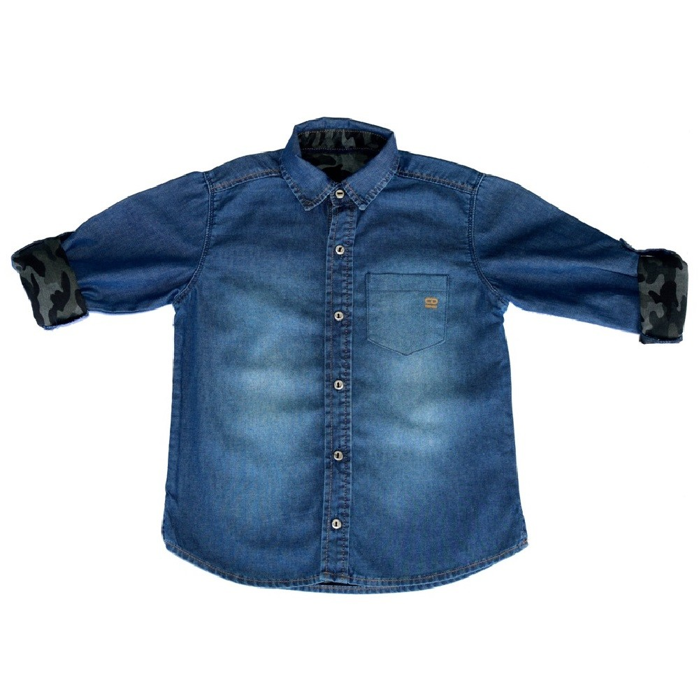 Camisa Jeans Clube do Doce War