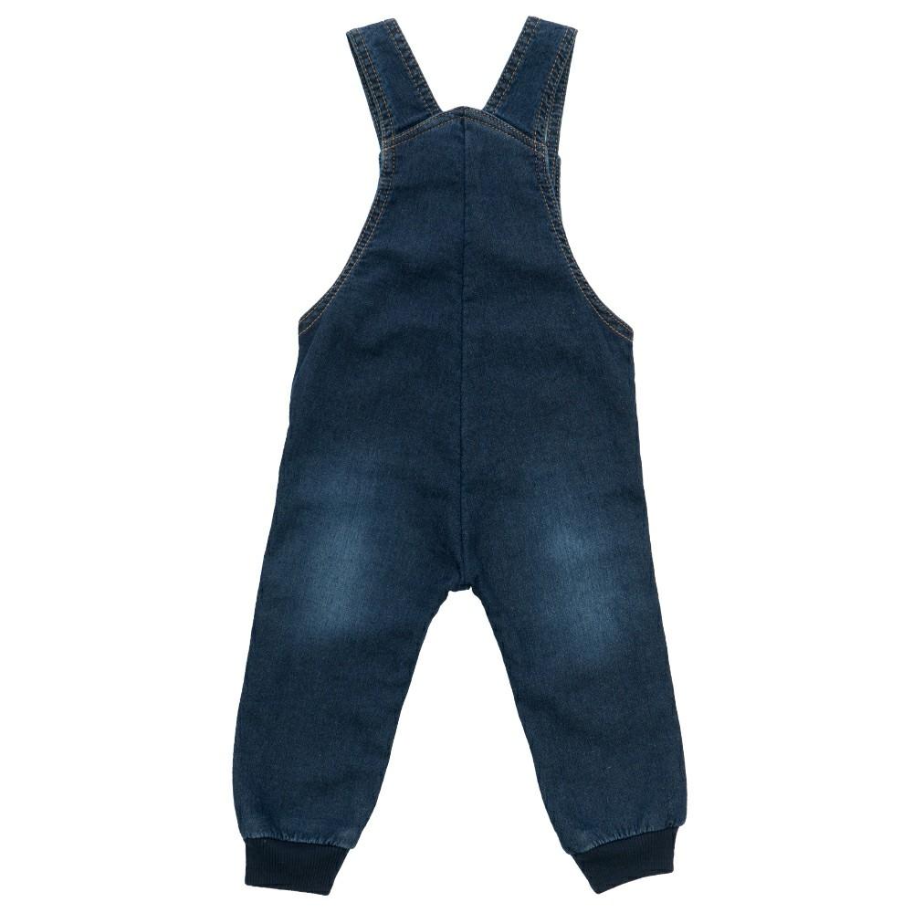Jardineira Jeans Clube do Doce Urso