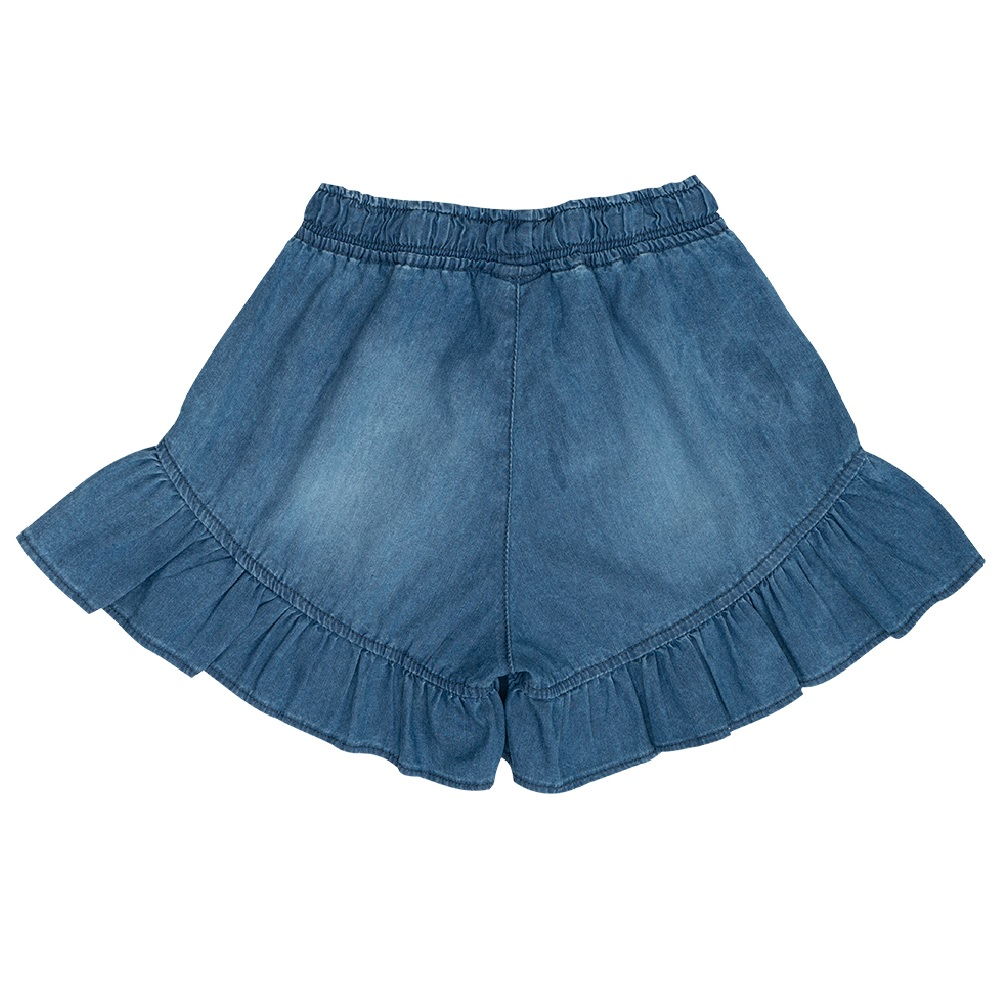 Shorts Jeans Clube do Doce Babados CD
