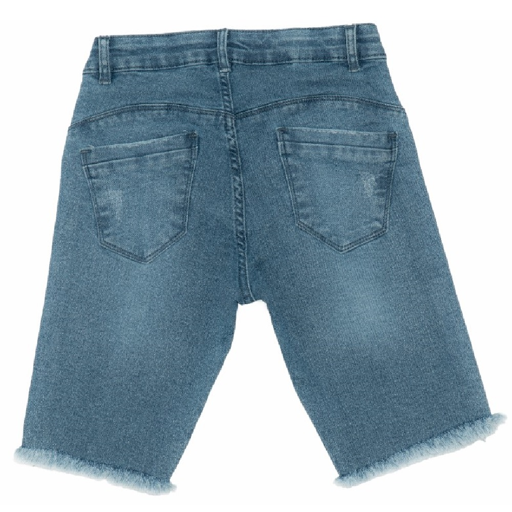 Shorts Jeans Clube do Doce Ciclista