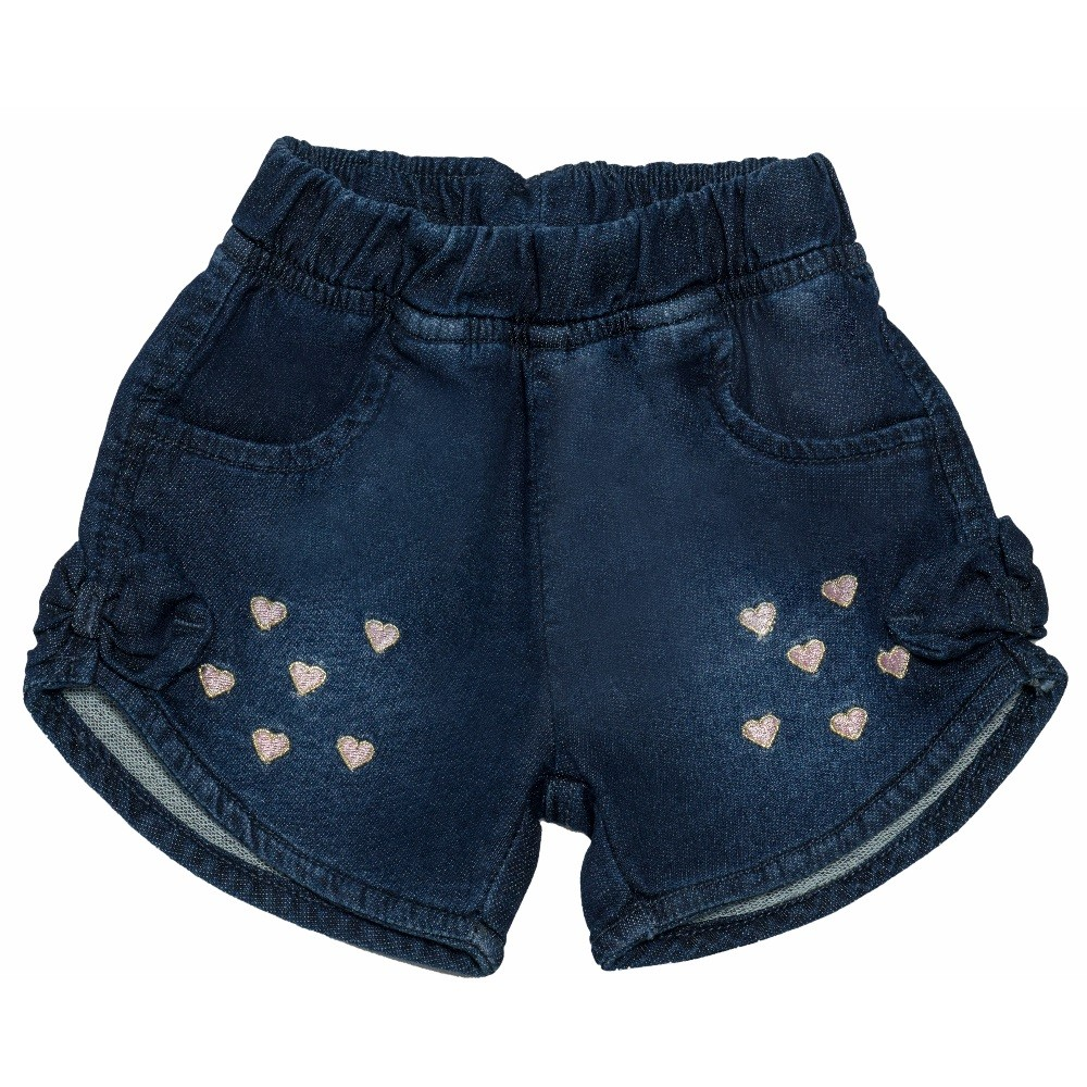 Shorts Jeans Clube do Doce Heart
