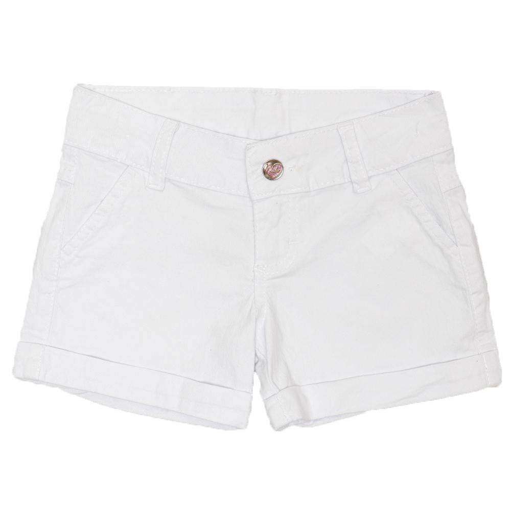 Shorts Sarja Clube do Doce Coração Marinheiro