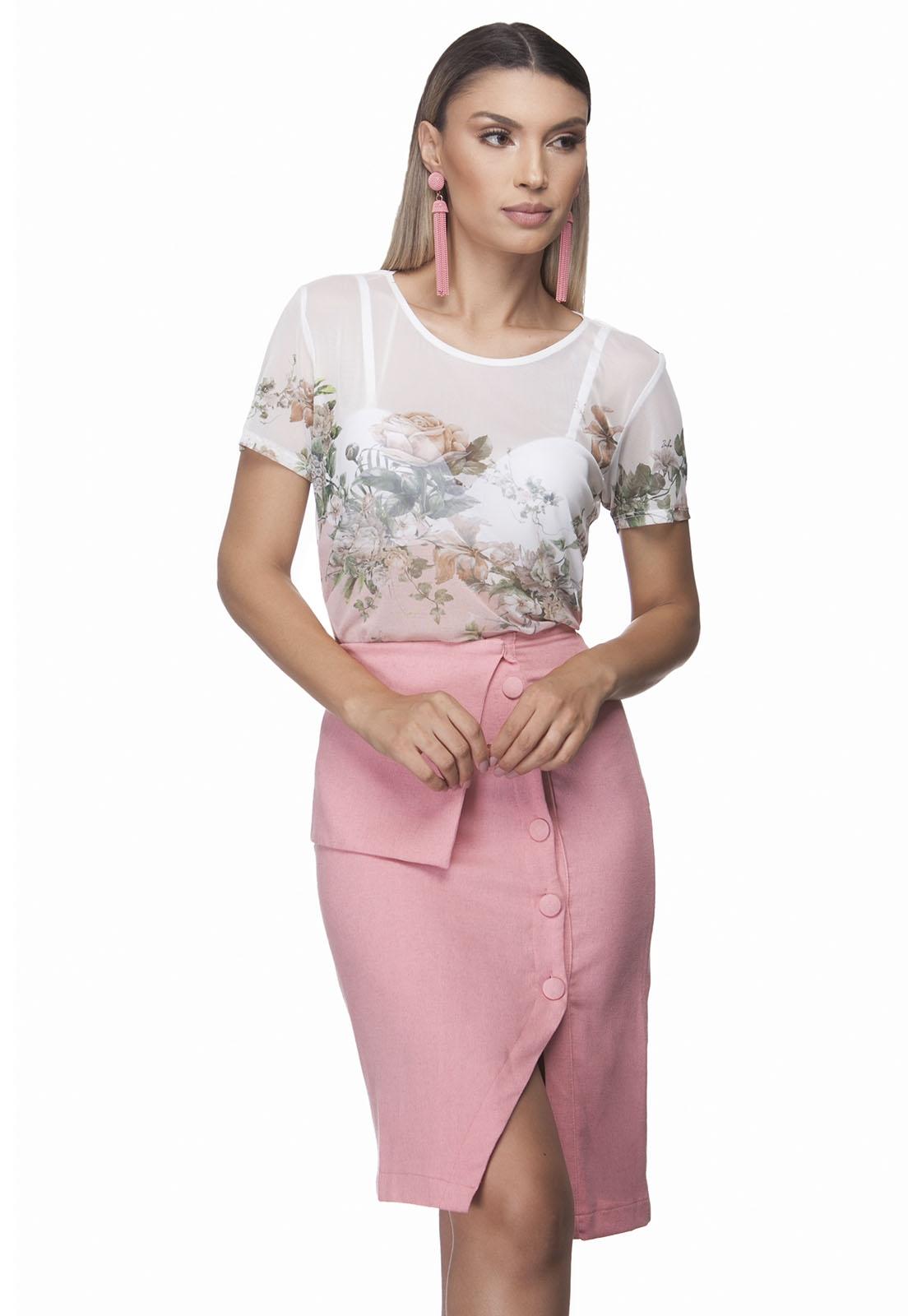 T Shirt Zaiko Tule Romantic 2392