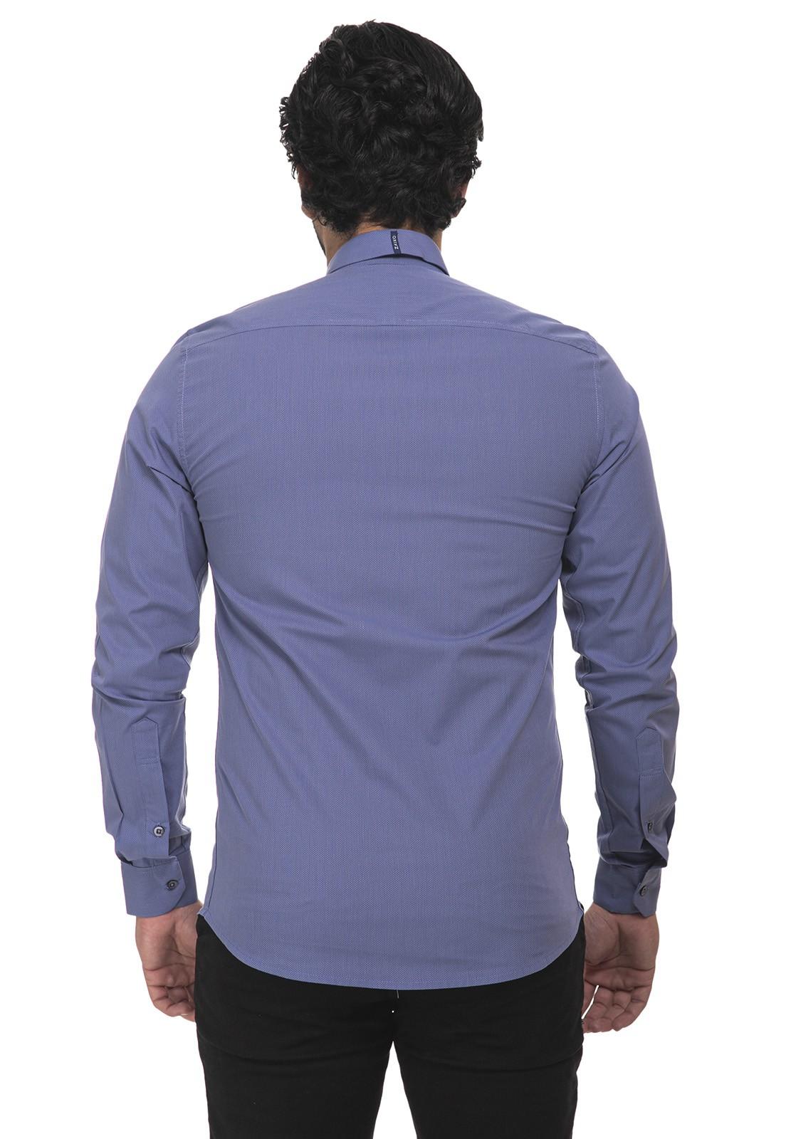 Kit 3 camisas social manga longa Frete Grátis