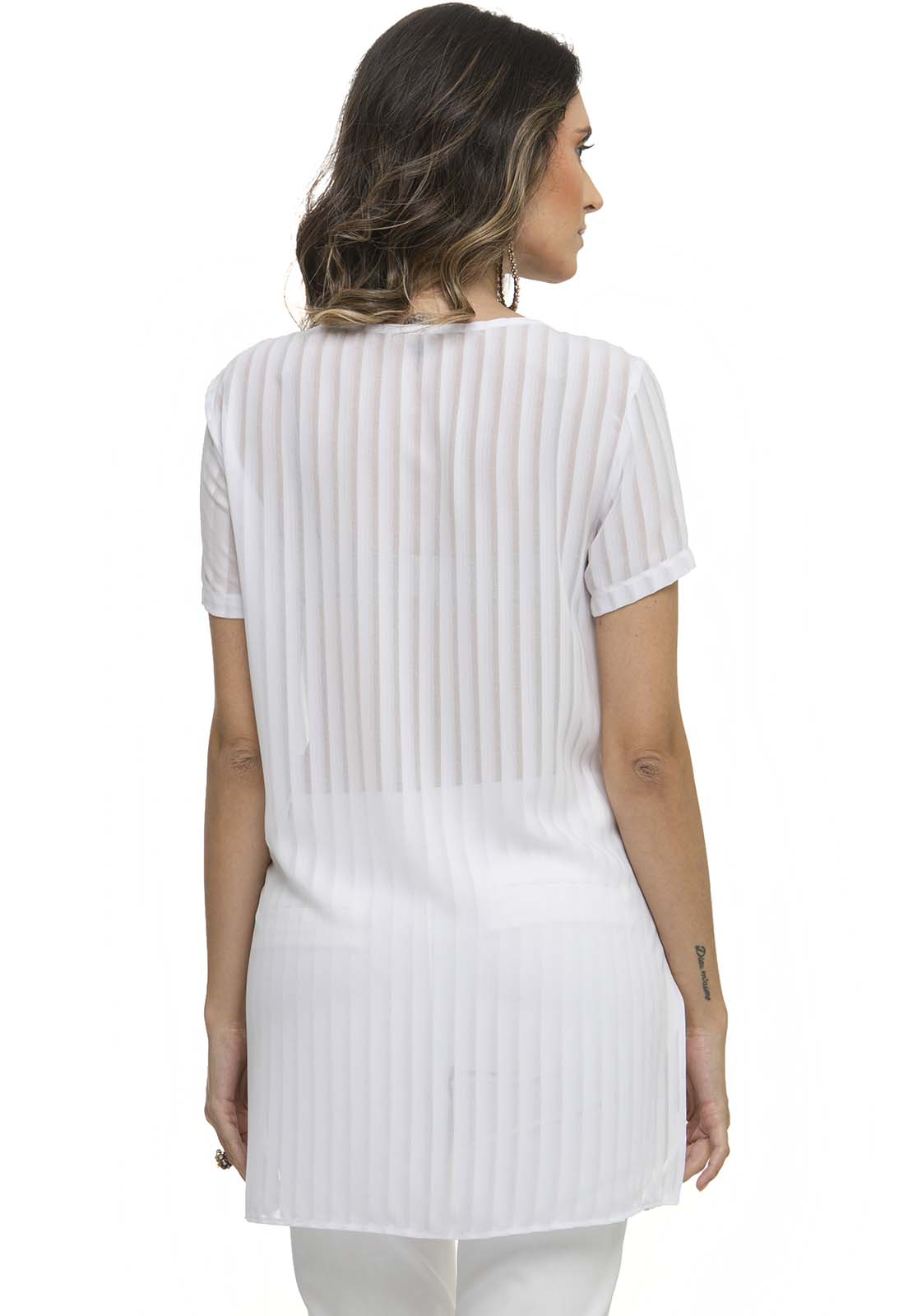 T Shirt Zaiko Over Stripes 2404