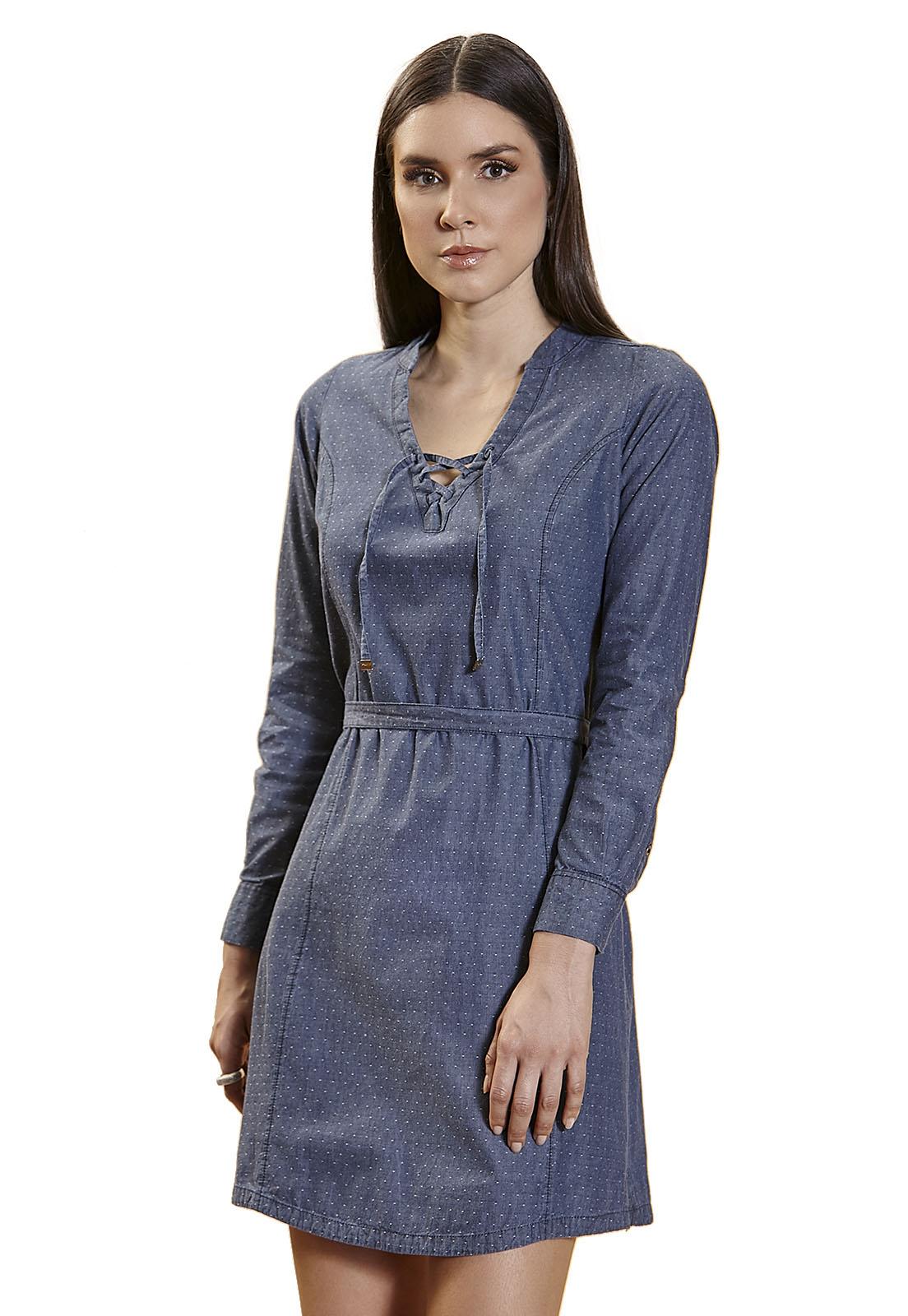 Vestido Chemise Zaiko Jeans 2307