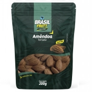 AMÊNDOA CHILENA TORRADA SEM SAL BRASIL FRUTT 200G