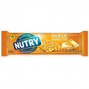 BARRA DE CEREAL NUTRY BANANA, AVEIA E MEL 22G C/24