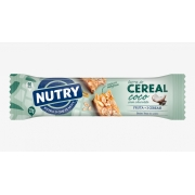 BARRA DE CEREAL NUTRY COCO COM CHOCOLATE 22G C/24