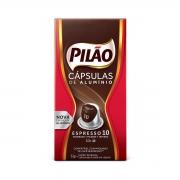 CAFÉ EM CÁPSULA DE ALUMÍNIO PILÃO ESPRESSO 10 C/10