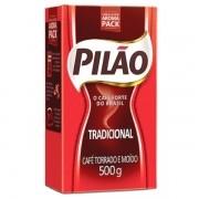 CAFÉ PILÃO TRADICIONAL A VÁCUO 500G