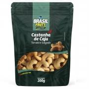 CASTANHA DE CAJU TORRADA E SALGADA BRASIL FRUTT 200G