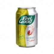 CHÁ FEEL GOOD BRANCO C/ LICHIA LATA 330ML C/12